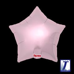Ibrex Zvijezda Metallic Light Pink folijski balon