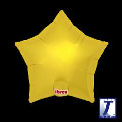 Ibrex Zvijezda Metallic Gold folijski balon