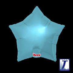 Ibrex Zvijezda Metallic Light Blue folijski balon