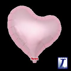 "Ibrex ""Sweet"" Srce Metallic Light Pink folijski balon"