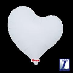 "Ibrex ""Sweet"" Srce White folijski balon"