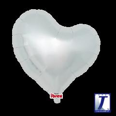 "Ibrex ""Sweet"" Srce Metallic Silver folijski balon"