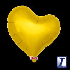 """Ibrex """"Sweet"""" Srce Metallic Gold folijski balon"""