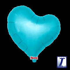 "Ibrex ""Sweet"" Srce Metallic Light Blue folijski balon"