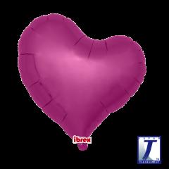 """Ibrex """"Sweet"""" Srce Metallic Magenta folijski balon"""