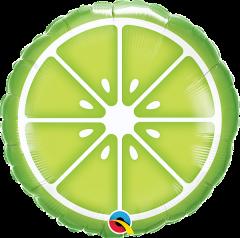 Sliced Lime folijski balon