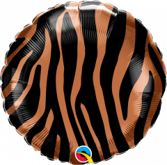 Standard Tiger Stripes Pattern folijski balon