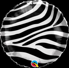 Standard Zebra Stripes Pattern folijski balon
