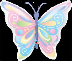 Maxi Beautiful Butterflies folijski balon