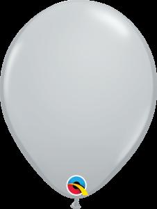 Lateks baloni 13cm Gray