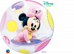Bubble Minnie Mouse Baby pvc balon