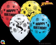 Lateks baloni 28cm Spider Man Special Ast
