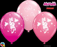 Lateks baloni 28cm Minnie Mouse Special Ast