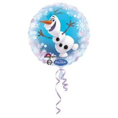 Standard Frozen Olaf folijski balon