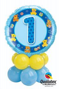 Balonska skulptura 1st Birthday Boy