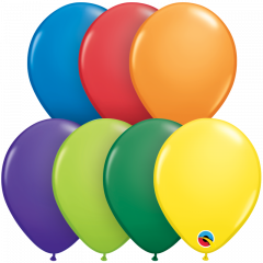 Lateks baloni 13cm Carnival Assortment