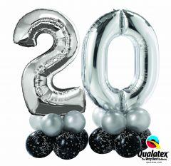Balonska skulptura Dva Broja