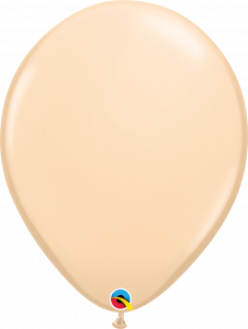 Lateks baloni 40cm Blush