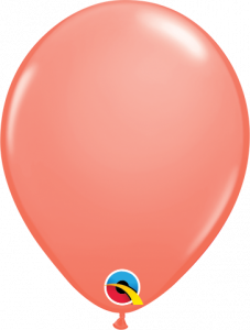 Lateks baloni 13cm Coral