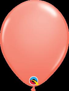 Lateks baloni 28cm Coral