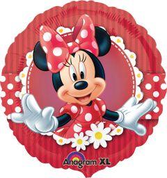 Standard Mad About Minnie folijski balon