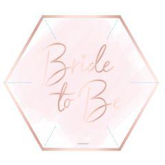 Bride To Be tanjuri 23cm