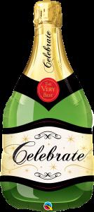 Maxi Celebrate Bubbly Wine Bottle folijski balon
