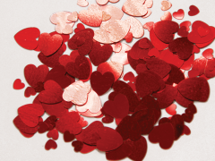 Konfeti Srca Red 12g