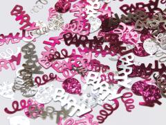 Konfeti Party Pink & Silver 12g