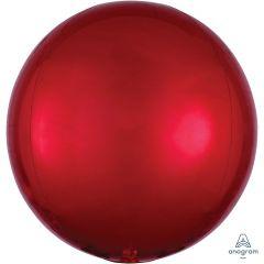 Orbz Red folijski balon