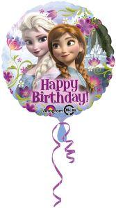 Standard Frozen Happy Birthday folijski balon