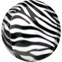 Orbz Zebra folijski balon