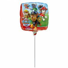 Mini Paw Patrol folijski balon na štapiću