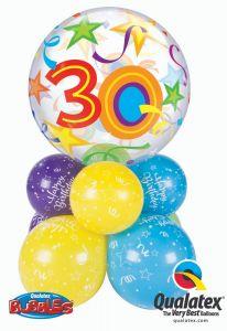 Balonska skulptura Bubble 30 Brilliant Stars
