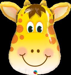 Maxi Jolly Giraffe folijski balon