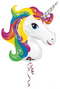 Maxi Rainbow Unicorn folijski balon