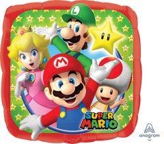 Standard Mario Bros folijski balon