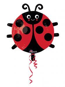 Standard Happy Lady Bug folijski balon