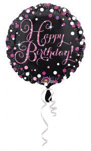 Standard Pink Celebration - HBD folijski balon