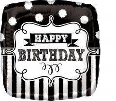 Standard ChalkboardBD Party folijski balon