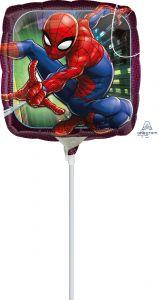 Mini Spider-Man Animated folijski balon na štapiću