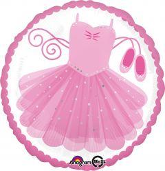 Standard Ballerina Tutu folijski balon