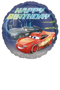 Standard Cars - Happy Birthday folijski balon