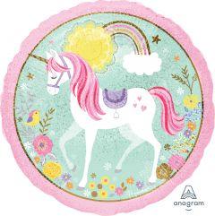 Standard Magical Unicorn folijski balon