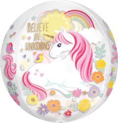 Orbz Magical Unicorn folijski balon