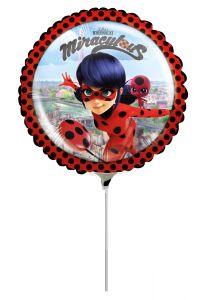 Mini Miraculous folijski balon na štapiću