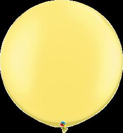 Lateks baloni 75cm Pearl lemon Chiffon