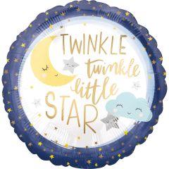 Standard Twinkle Little Star folijski balon