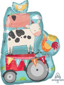 Maxi Barnyard Birthday folijski balon