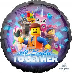 Standard Lego Movie 2 folijski balon